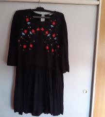 Vero moda crna haljina tunika