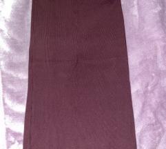 Bordo crvena suknja