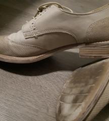 Cipelice na vezanje - prava koža