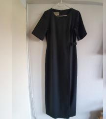 Giorgio duga crna haljina, kao nova