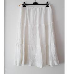 Bijela suknja-kao nova