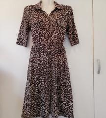 H&M haljina gepard uzorka