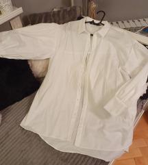 Zara bijela ovesized košulja