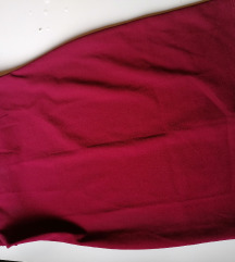 Koktel bordo haljina M