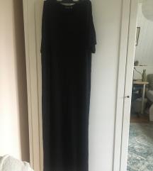 Crna maxi haljina