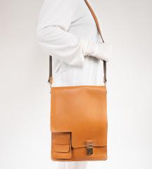 Studentska vintage kožna torba