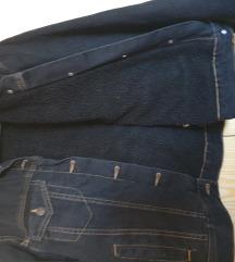 Pull&bear jeans teddy, NOVO