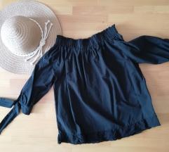 Crna ljetna bluza xs