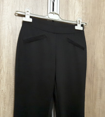 Crne hlače, tajice, XS