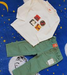 NOVO majica i hlače s etiketom