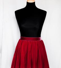 Mini suknja visokog struka