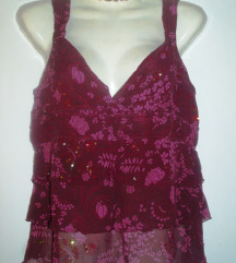 H&M divna cvjetna svilena bluza