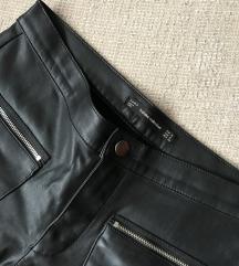 SNIZENO! Zara biker hlače, 36