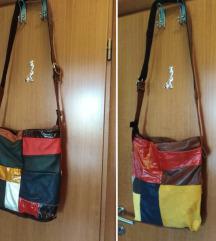 Dizajnerska kožna torba, 50%=250kn