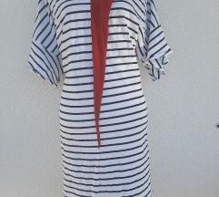 Prugasta haljina vel  42/44  149kn