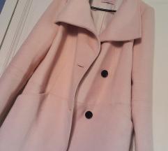 Bershka roza kaput