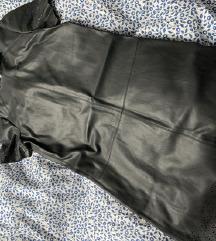 ZARA kožna haljina SNIŽENO
