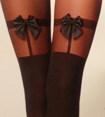 Preslatke nove čarape s mašnom