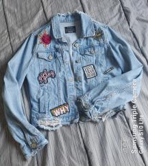 Alcott jeans jakna sa aplikacijama 💖💖