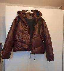 Zara s etiketom L-XXL bordo jakna