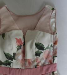 Cvjetna lepršava haljina
