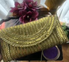 Koktel žuta nova torbica