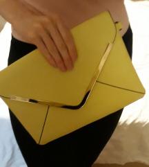 Svjetlo zuta torbica