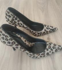 Zara štikle, leopard, veličina 39