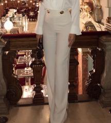 Zara bijele hlace
