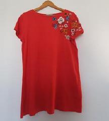 Nova Mango crvena haljina/tunika