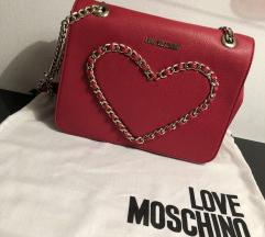 Original Love Moschino crvena torba