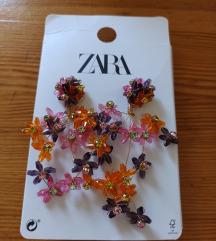 Nove Zara cvjetne nausnice