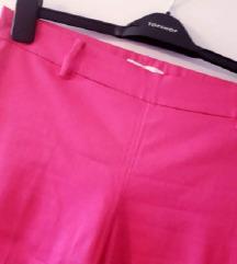 HM roza hlače visoki struk