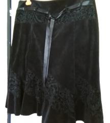 Samt suknja