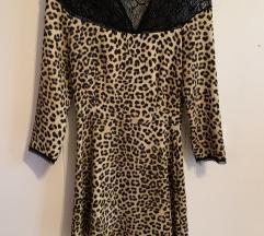 Zara animal print haljina
