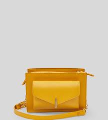 Žuta crossbody torbica C&A