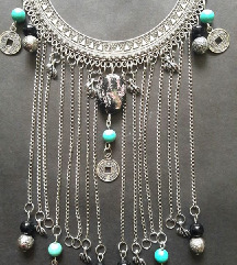 Boho, gypsy ogrlica