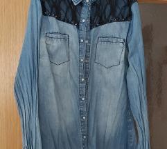 Bershka jeans kosulja