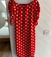 Pin up crvena haljina