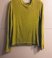 No name majica - neon zelene boje