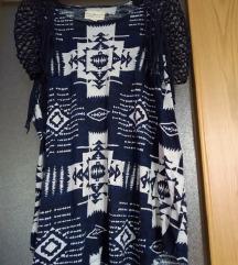 RL boho ljetna oversized majica/tunika