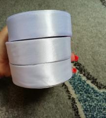 bijela traka 2,5 cm