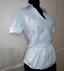 H&M mint wrap košulja M