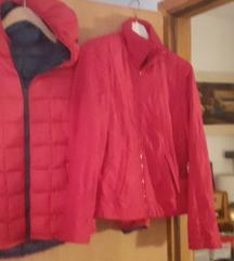 Lot 2 crvene jakne zenske vel m,l