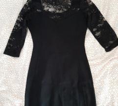 Uska crna haljina%%