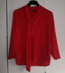 Zara crvena bluza košulja