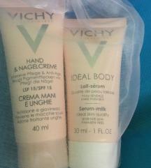 VICHY SET HAND AND NAIL CREAM  BODY LAIT SERUM