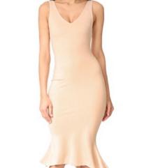 L'agence predivna nude midi dress nenosena:)