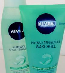 Nivea gel za umivanje i losion za lice