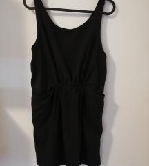 Crna lepršava haljina vl. 38